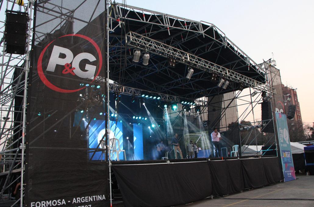 P&G Producciones opta por Stanich Giro para Festivales en Formosa