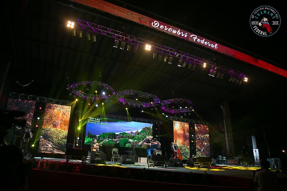 Stanich Luma en el Festival Nacional del Chamamé
